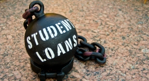 Student Debt with Ball and Chain